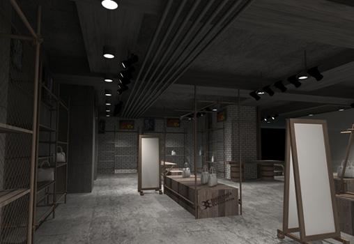 工业风格店面装修