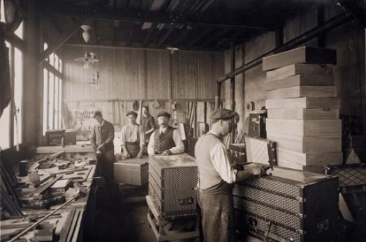 19世纪goyard的手工作坊