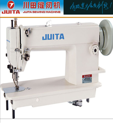 川田工业缝纫机穿线步骤图